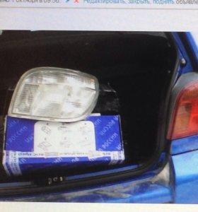 Задние новые фонари тюнинг Toyota Vitz Yaris 2000