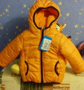 Новая детская куртка осень
