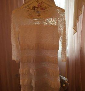 Платье кружевное 👗