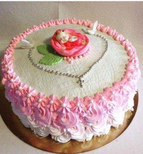 Торт на юбилей,свадьбу,крестины и т.д.