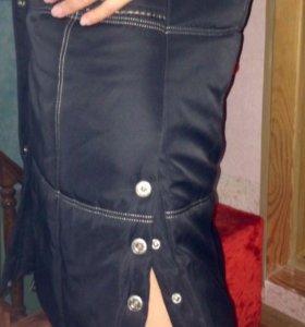Пуховое пальто женское, зимнее