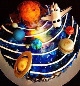 Торт космос.
