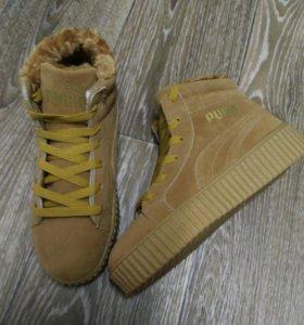 Новые зимнии ботинки!