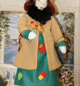 Кукла Тильда. Мадам -Осень