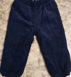 Велюровые штанишки на флисе