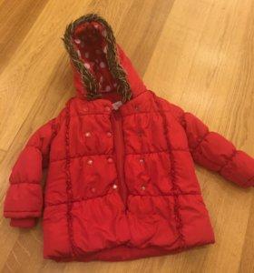 Куртка осень/зима теплая