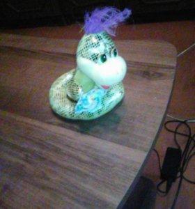 Мягкая игрушка, Змейка
