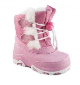 Дутики зимние для девочки