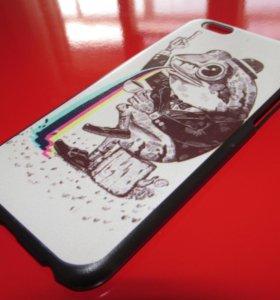 Пластиковый чехол Frog на iphone 6