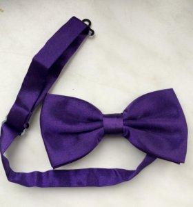 Бабочка фиолетовая