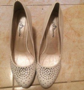 Свадебные туфли 39р.