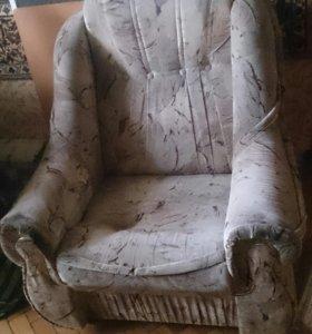 Кресло б/у.