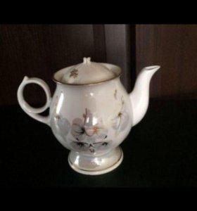 Сахарница, заварочный чайник