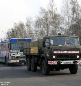 Буксировка автобусов