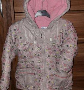 Куртка тёплая 92