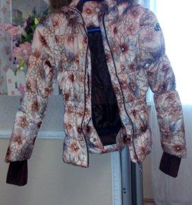 Куртка горнолыжная для девочек Glissade