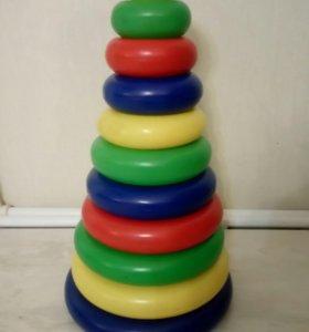 Детская пирамидка 58 см