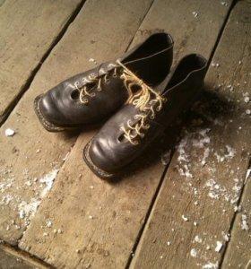 Лыжные ботинки р.43-44