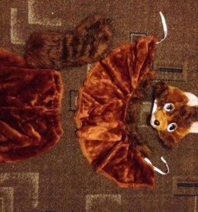 Праздничный костюм лисы, там юбочка это не шорты )