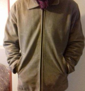 Куртка кожа нубук