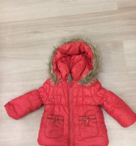 Детская куртка на зиму для девочки
