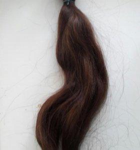 Натуральные волосы срез