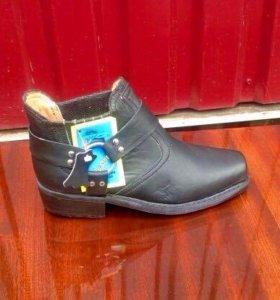 Ботинки  новые подрастковые