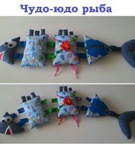 Рыбка для развития мелкой моторики