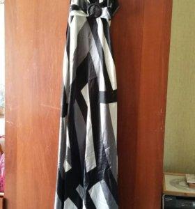 Шикарное платье в пол. 40-44