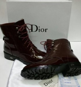 Ботинки зимние Dior