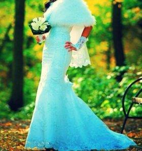Продаю модное свадебное платье рыбка