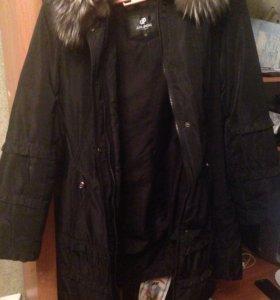 Пальто зимнее,очень теплое