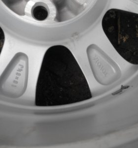 Колесо с диском на а/м  тойота королла 1шт