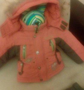 Зимний костюм для мальчика рр80