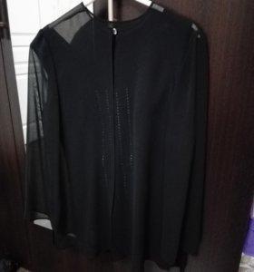 Топ + блузка/кардиган