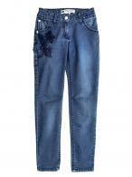 Новые джинсы для девочки на 8 лет