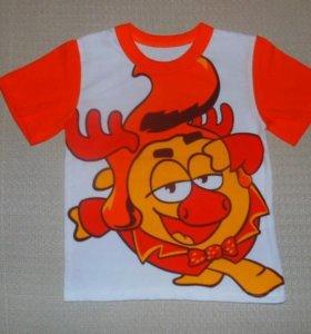 Новые футболки на мальчиков