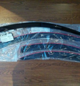 Дифлекторы на Nissan Almera