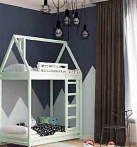 Детские кровати из массива