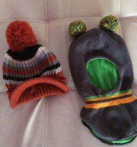 Продам шапки на мальчика