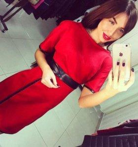Новое стильное платье 44-46