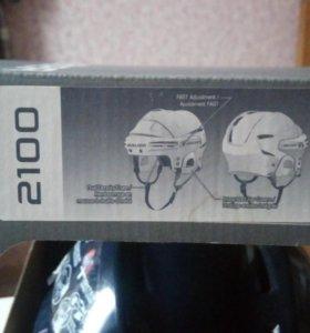 Новый хоккейный шлем