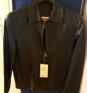 Срочно продам мужской пиджак. натуральная кожа