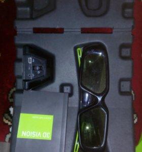 3D очки для пк , новые