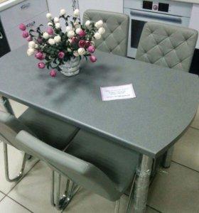 Обеденный стол+4 стула