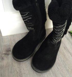 Детские Новые зимние ботинки сапожки 26