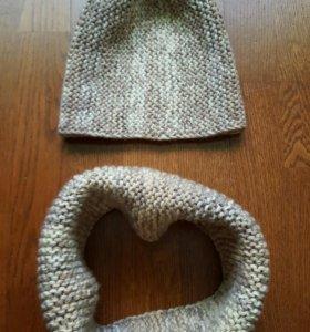 Комплект шарф +шапка