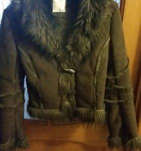 Куртка - дубленка 42-44 размера