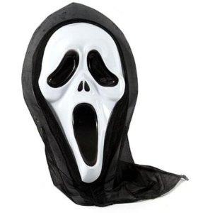 Маска на хеллоуин 4 вида