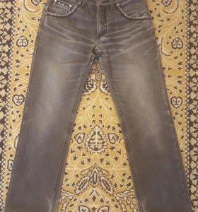 Тёплые мужские джинсы